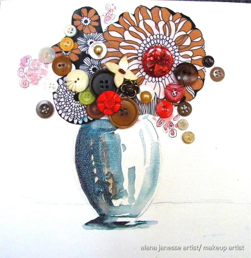 vintage flora by alana janesse artist/ makeup artist