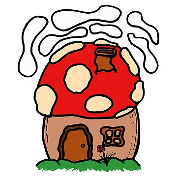 Mushroom House by medulla9324
