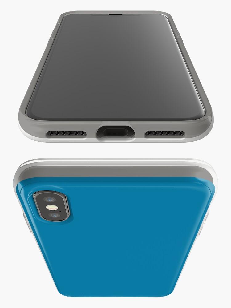 Alternative Ansicht von CG Blau iPhone-Hülle & Cover
