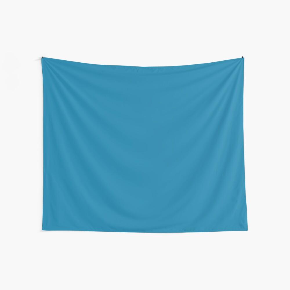 CG Blau Wandbehang