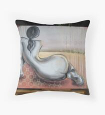 nude2 Throw Pillow