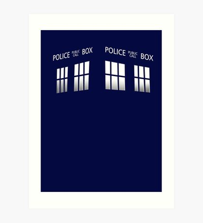 Time Box Art Print