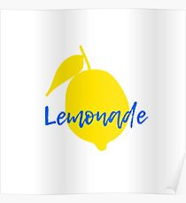 Lemonade item Poster