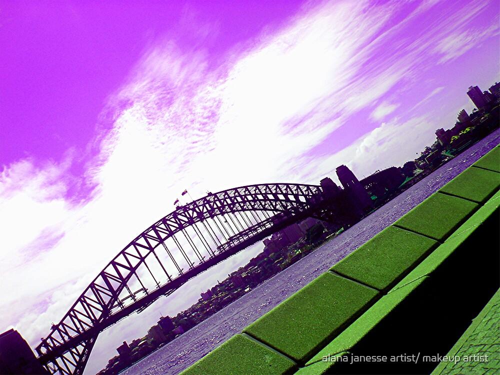 syney bridge by alana janesse artist/ makeup artist