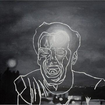 Jack Nicholson Portrait by Mad-Hufflepuff