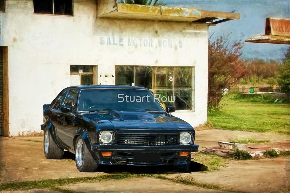 Black SS Torana Hatchback by Stuart Row