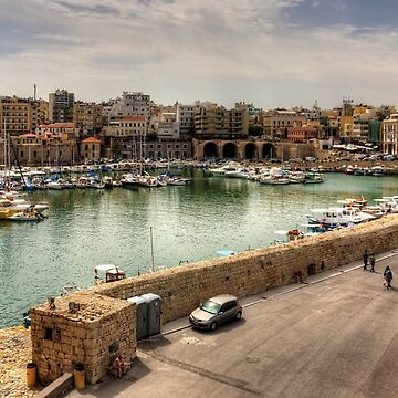 Heraklion Old Port by tomg