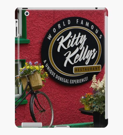 Kitty Kelly's restaurant, Donegal - wide iPad Case/Skin