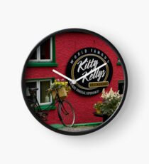 Kitty Kelly's restaurant, Donegal - wide Clock