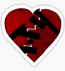 How To Mend a Broken Heart: The Rock Way Sticker