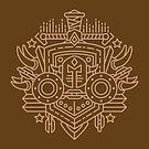 Warrior – Class Crest (color) by dcmjs