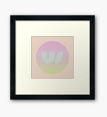 US Framed Print