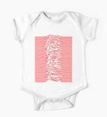 Joy Division - Unknown Pleasures (Red Lines) One Piece - Short Sleeve