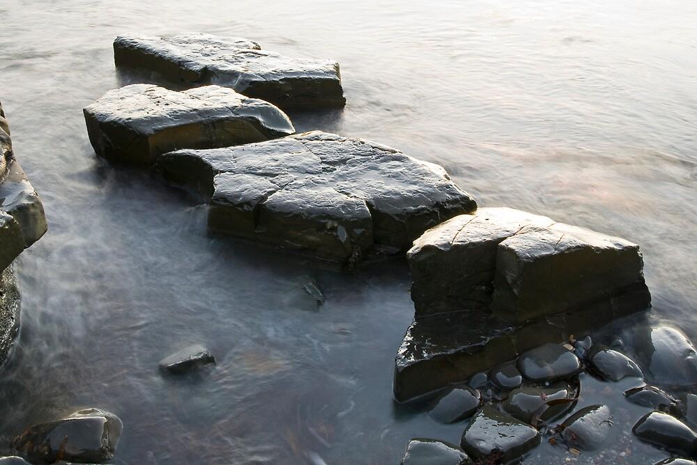 Rocks of Kimmeridge Bay by nathanpwilliams
