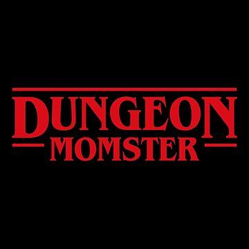 Dungeon Momster - Nerd Mom - Especial para el Día de la Madre de pixeptional