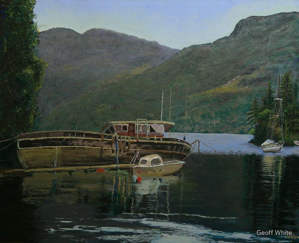 Loch ness by Geoff White