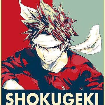 Shokugeki No Soma - Soma Yukihira Pop Art by APerspective