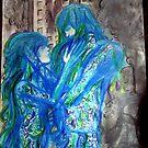Fallen Embrace. by Lele