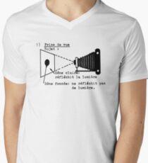 la prise de vue Men's V-Neck T-Shirt