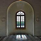 The shadow of a window by Arie Koene