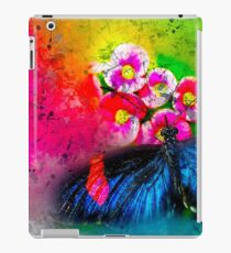 Butterfly Color Explosion iPad Case/Skin