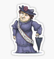 Nellie McClung Sticker