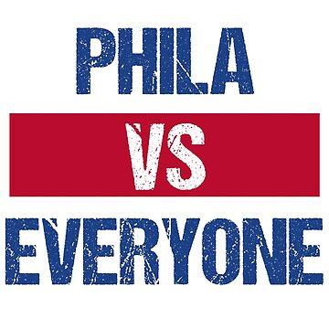Phila vs Everyone by kreativedesigns