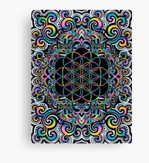 Doodle Magic - white Canvas Print