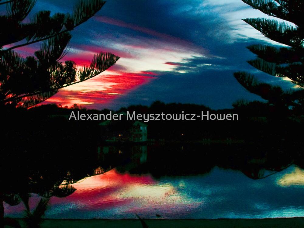 Reflective sky by Alexander Meysztowicz-Howen