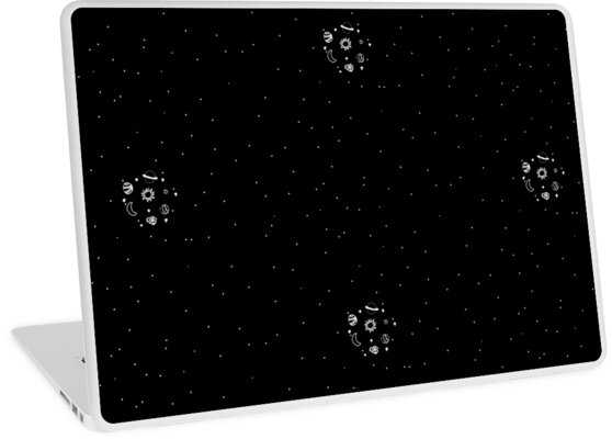 Galaxy Tumblr Design Laptop Skins Von Chaparro Aesthetics Redbubble