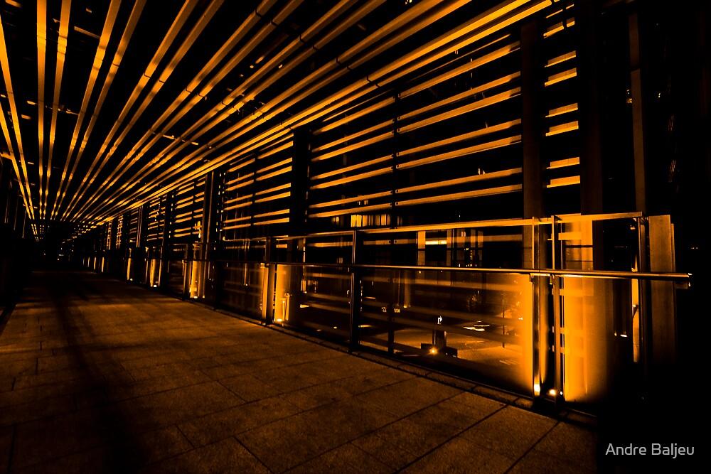 orange lines 1 by Andre Baljeu