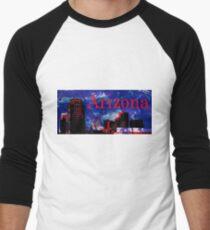 Arizona Proud - Phoenix Skyline Baseball ¾ Sleeve T-Shirt