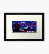 Arizona Proud - Phoenix Skyline Framed Print