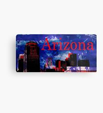 Arizona Proud - Phoenix Skyline Metal Print