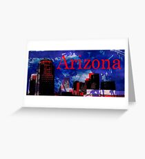 Arizona Proud - Phoenix Skyline Greeting Card