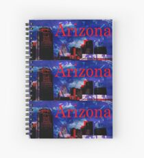 Arizona Proud - Phoenix Skyline Spiral Notebook