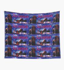 Arizona Proud - Phoenix Skyline Wall Tapestry