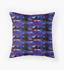 Arizona Proud - Phoenix Skyline Throw Pillow