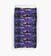Arizona Proud - Phoenix Skyline Duvet Cover