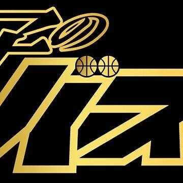 Kuroko No Basket Logo (Gold) by kagegfx