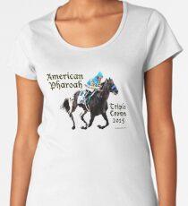 American Pharoah Triple Crown 2015 Women's Premium T-Shirt
