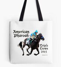 American Pharoah Triple Crown 2015 Tote Bag