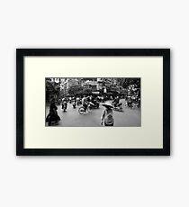 Crazy Road Framed Print