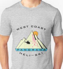 West Coast Panorama Heli-ski Unisex T-Shirt