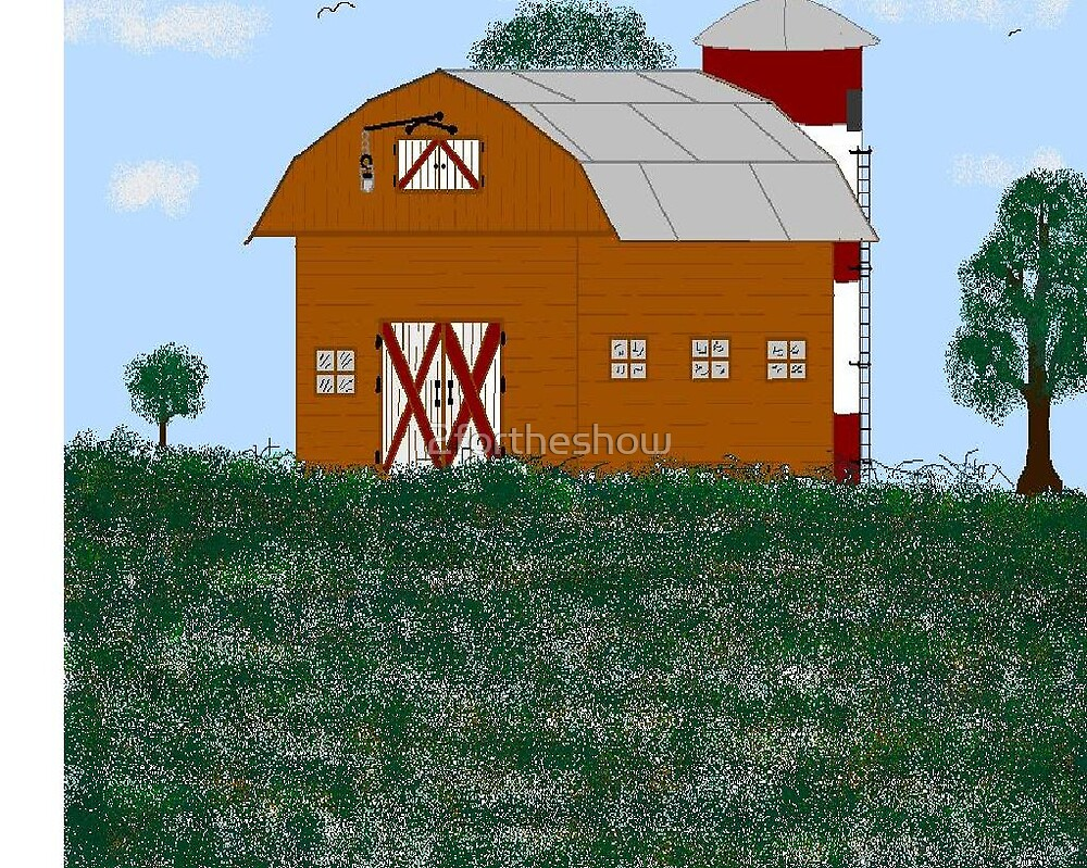 Barn by 2fortheshow