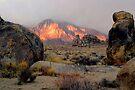 Mount Whitney Early Morning by photosbyflood