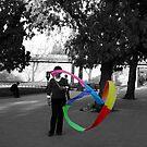 China ribbon by Sophie Matthews