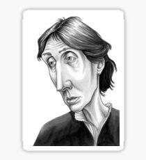 Virginia Woolf Sticker
