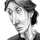 Virginia Woolf by Gareth Southwell