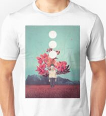 Standing at the Threshold of Time Unisex T-Shirt